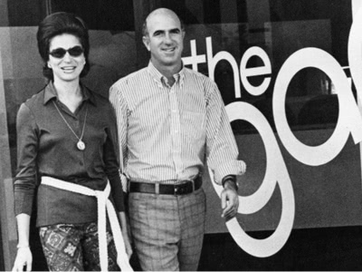 Don and Doris opening first Gap store
