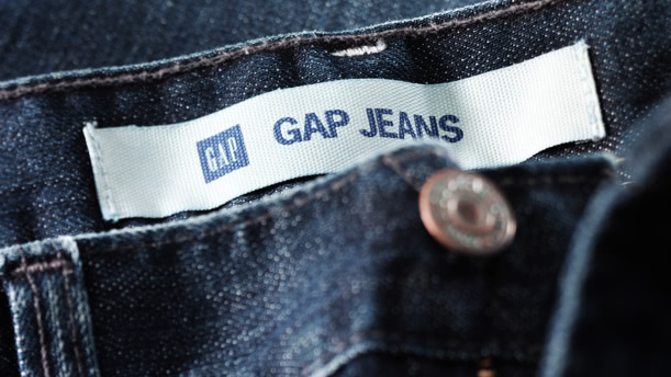 Gap Jeans label