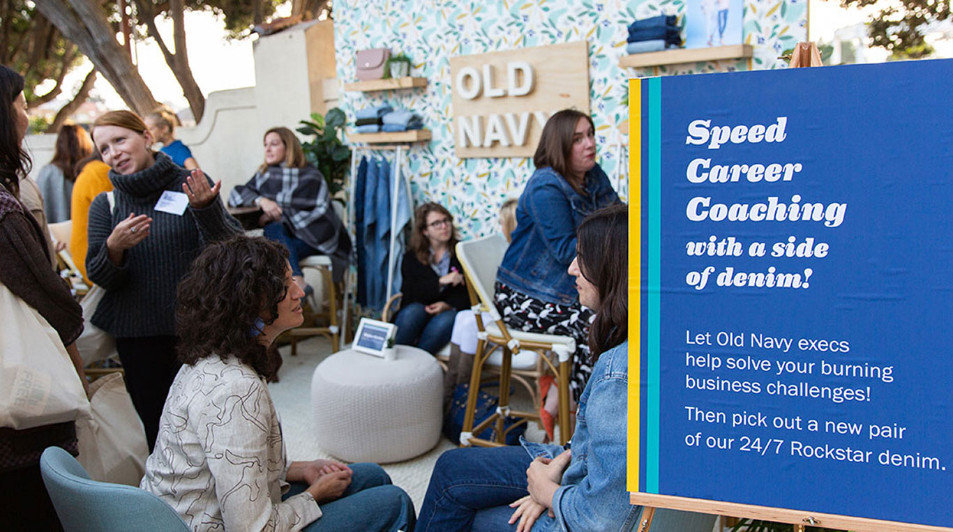 In Good Company Event with Old Navy Female Leaders