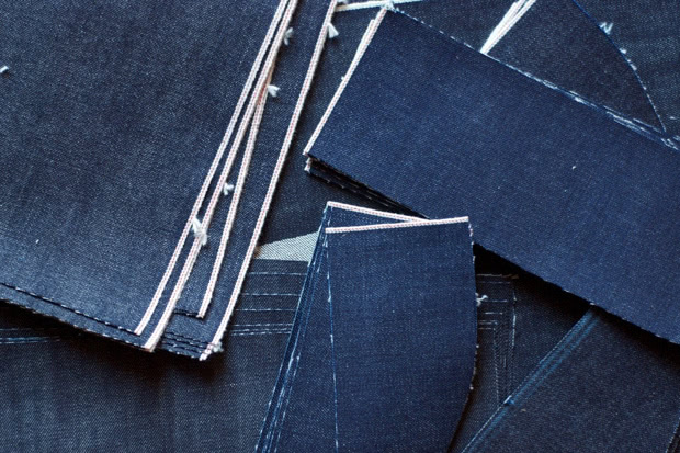 denim swatches